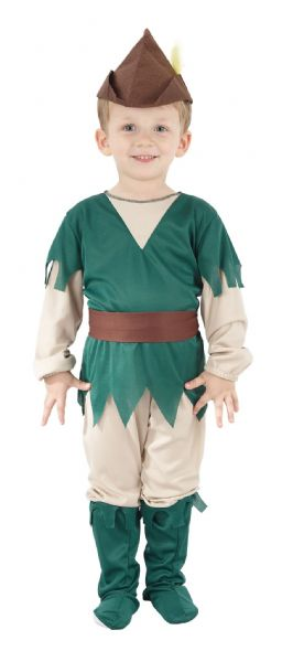 Boys Medieval Robin Hood Costume Middle Dark Ages Fancy Dress Outfit Cosplay